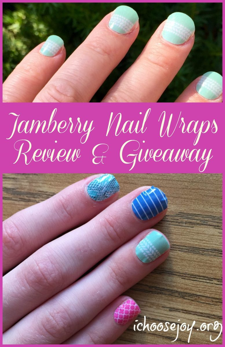Review/ Giveaway: Jamberry Nail Wraps