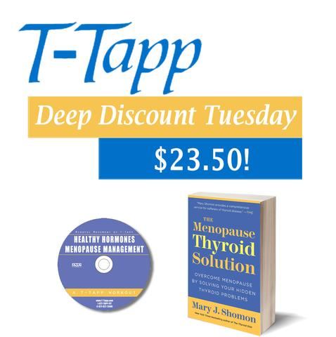 Mindful Movement for Healthy Hormones DVD + Mary Shomon's Menopause Thyroid Solution
