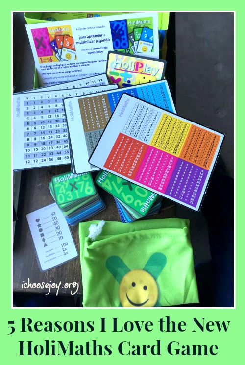 5 Reasons I Love the New HoliMaths Educational Card Game