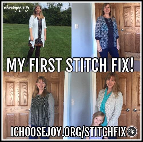 My First Stitch Fix Shipment