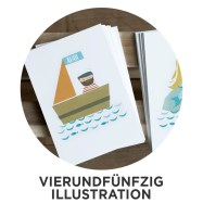 Vierundfünfzig Illustration