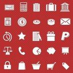 Ecommerce Glyphs icônes