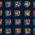 Icônes sociales Lego
