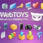 webtoys icones gratuites