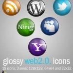 web icones partage