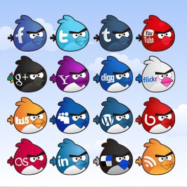 Angry Birds social