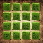 icones herbe social