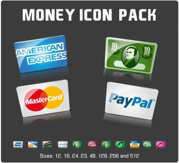 Money icones pack