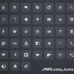 MNMLcony Icons