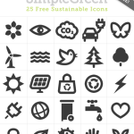 SimpleGreen-Free-Black icones