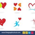 Hearts Vector icones