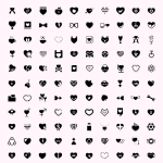 Icones coeur