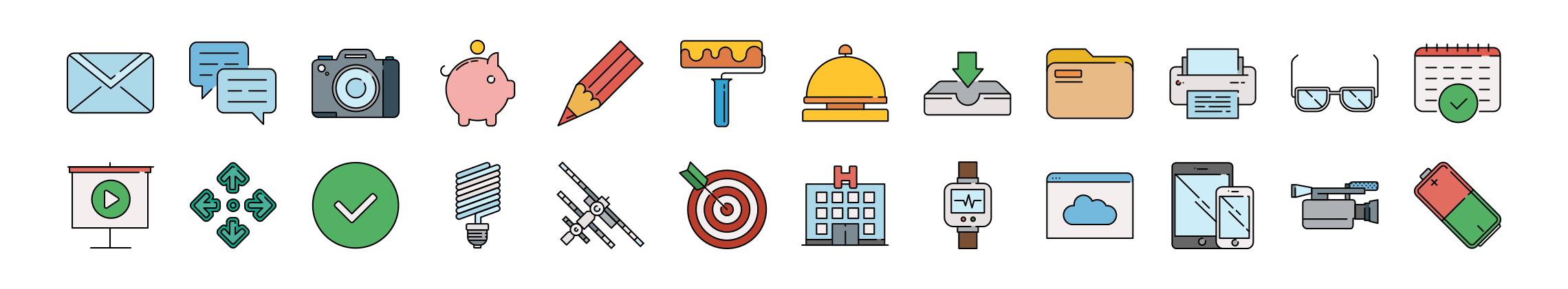 responsive free icons