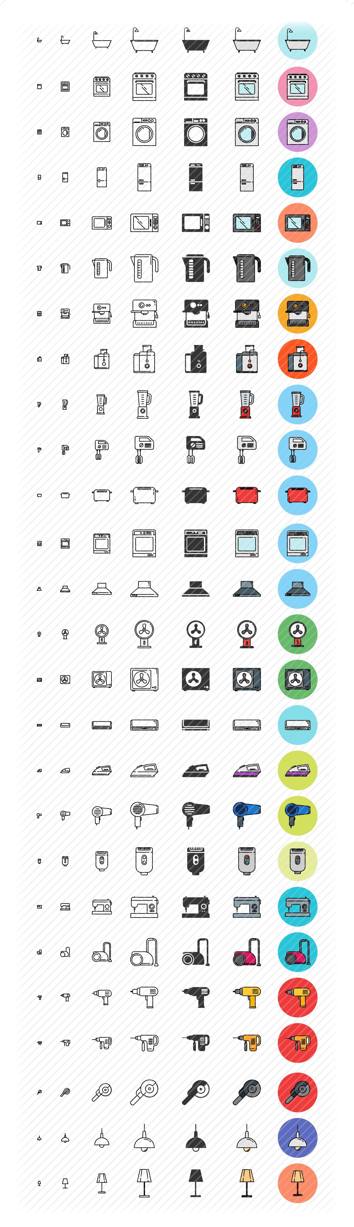 houseware icons