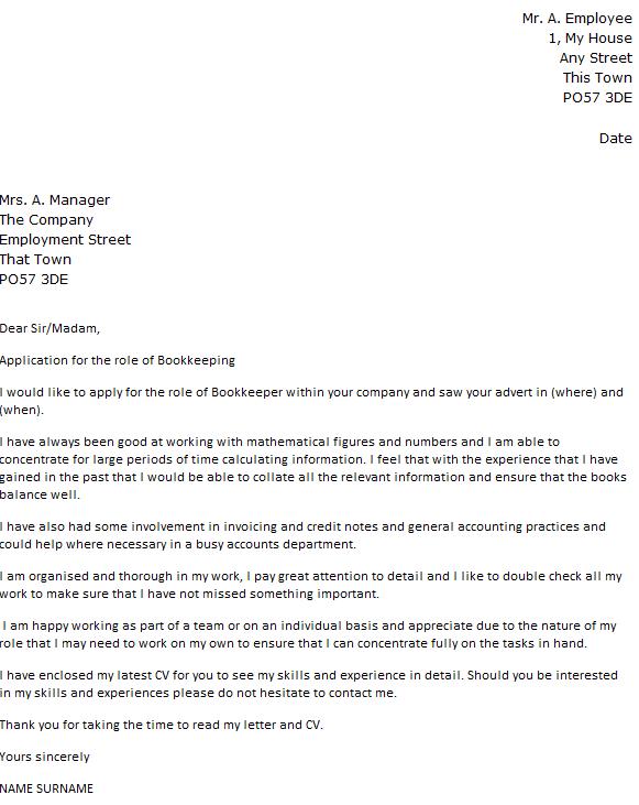 Letter Of Recommendation For Bookkeeper Vorte