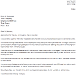 insurance claims manager cover letter example