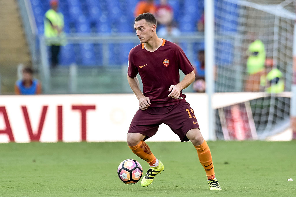 Thomas Vermaelen of Roma  during the Italian Serie A football match Roma v Udinese on August 20, 2016, in Rome, Italy.  (Photo by Giuseppe Maffia/NurPhoto via Getty Images)
