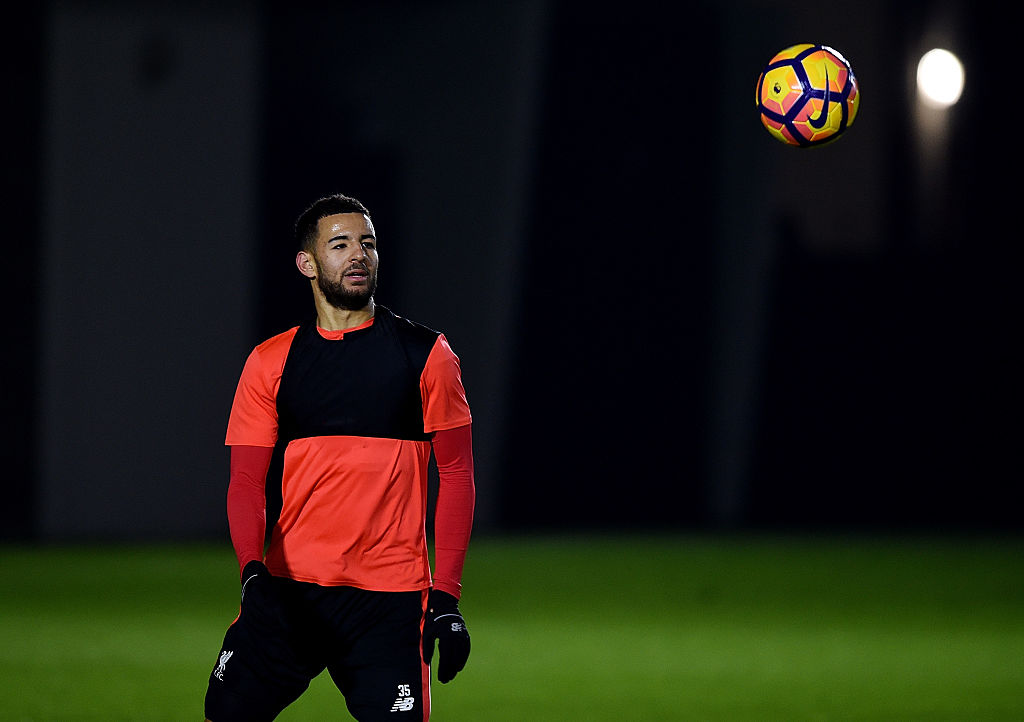 LIVERPOOL, ENGLAND - DECEMBER 29:  (THE SUN OUT, THE SUN ON SUNDAY OUT) Kevin Stewart of Liverpool during a training session at Melwood Training Ground on December 29, 2016 in Liverpool, England.  (Photo by John Powell/Liverpool FC via Getty Images)