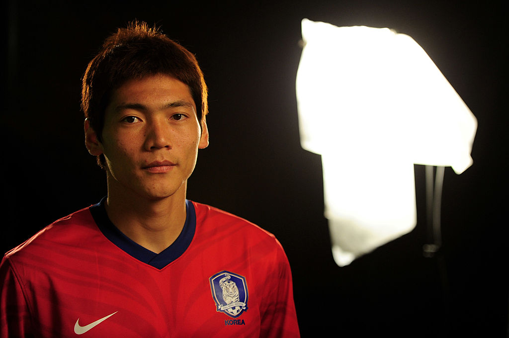 RUSTENBURG, SOUTH AFRICA - JUNE 06:  Hyung Il Kim of South Korea poses during the official FIFA World Cup 2010 portrait session on June 6, 2010 in Rustenburg, South Africa.  (Photo by Mike Hewitt - FIFA/FIFA via Getty Images)