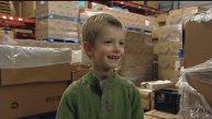 Tristan Bittick donates his saving to The Idaho Foodbank