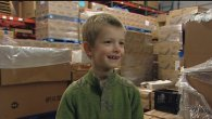 Tristan Bittick donates his saving to The Idaho Foodbank