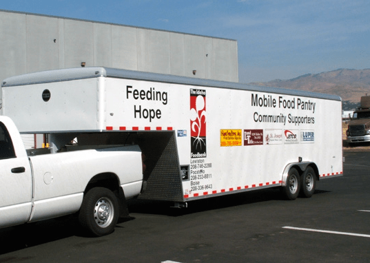 Idaho Foodbank Mobile Pantry