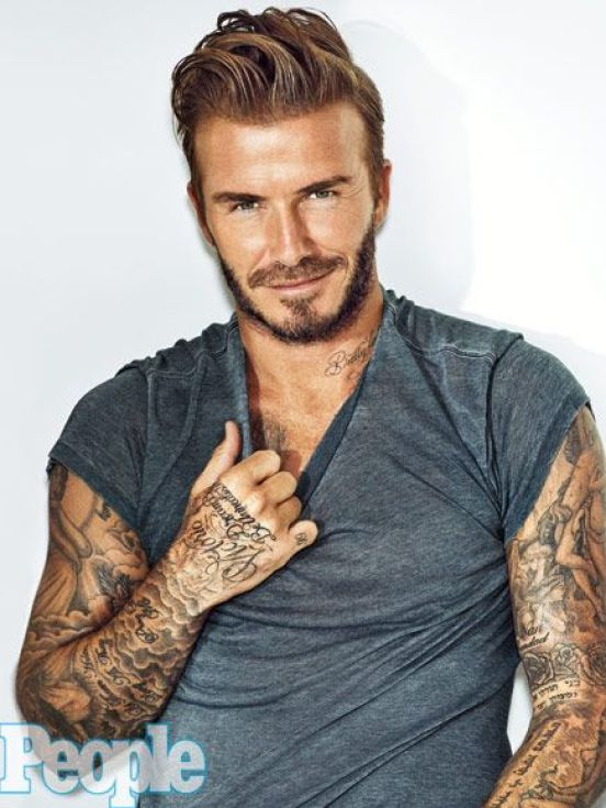 David Beckham Tattoos
