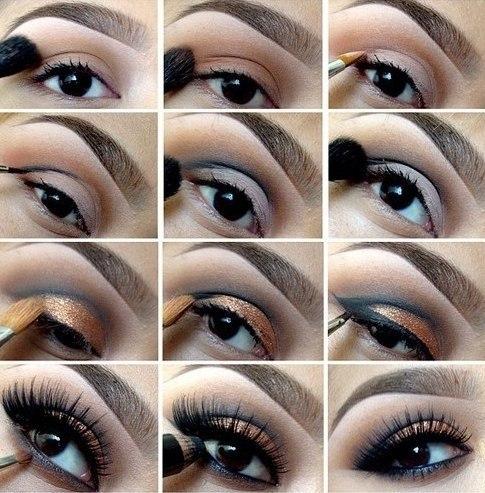 Как сделать самой красивый макияж
