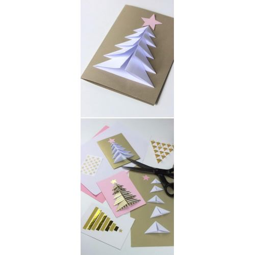 Medium Crop Of Handmade Christmas Cards