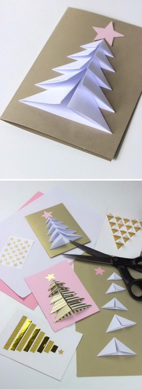 Medium Of Handmade Christmas Cards