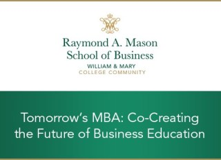 Tomorrow's MBA: Co-Creating the Future of Business Education