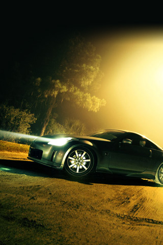 Nissan 350Z iPhone Wallpaper | iDesign iPhone