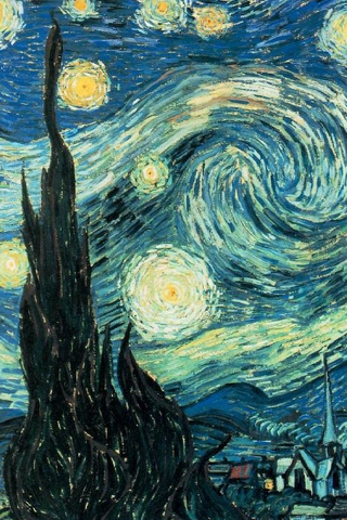 Starry Night iPhone Wallpaper | iDesign iPhone