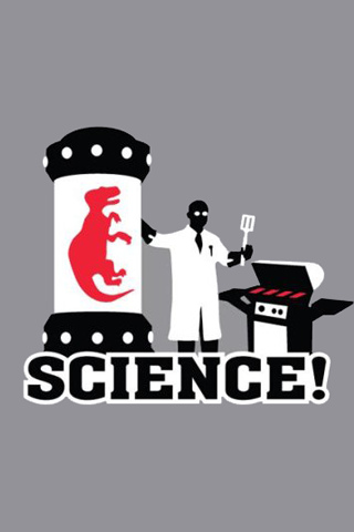 Science! – The other red meat iPhone Wallpaper | iDesign iPhone