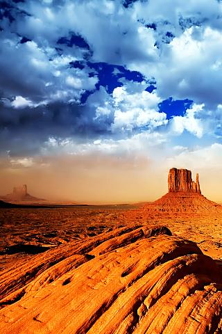 Nevada Desert iPhone Wallpaper | iDesign iPhone