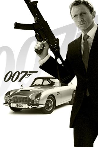 James Bond 007 iPhone Wallpaper   iDesign iPhone