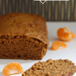 Vegan Pumpkin Bread with Clementine and Cardamom
