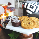 DIY Marble Hexagon Cake Stands for PlaidFox