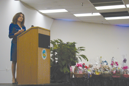 Keynote speaker of the event was Kristina Rose, deputy director of the Office for Victims of Crime for the U.S. Department of Justice.