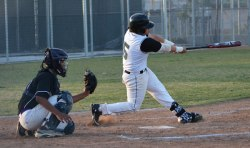 Photo/Richard Dawson Senior Derek Escobar had three hits during Grand Terrace's 10-5 home win over Pacific during Sunkist League action on March 24. had three hits during Grand Terrace's 10-5 home win over Pacific during Sunkist League action on March 24.