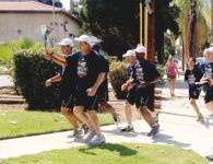 iecn photo/yazmin alvarez Law enforcement officers from Redlands and throughout the world, joined Special Olympic athletes in running the Law Enforcement Torch Run's Final Leg through Redlands.