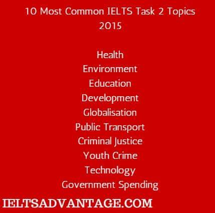 top 10 task 2 topics