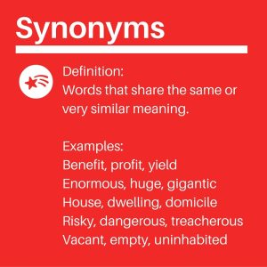 IELTS Synonyms