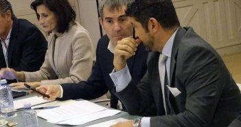 Clavijo на совещании
