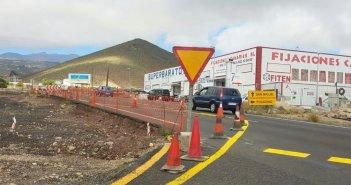 Временный объезд на шоссе TF-65 из-за строительства новой ротонды