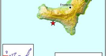 Землетрясение силой в 2,5 балла произошло возле острова El Hierro