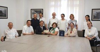 Островной Совет Тенерифе принял посетивших остров восточных мастеров