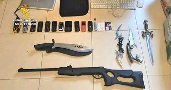 Гражданская гвардия ликвидировала одну из самых активных организаций по торговле наркотиками на Канарах