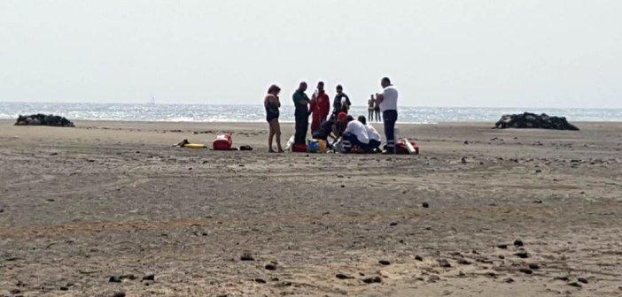 В эту пятницу один немец утонул на пляже La Tejita, на юге Тенерифе