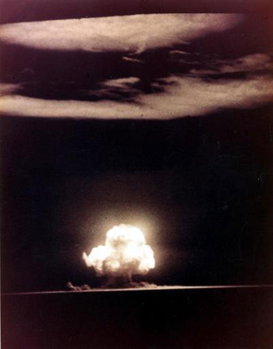 primera explosion atomica con exito